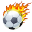 Активный футбольный болельщик